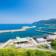 若郷漁港(渡浮根漁港)